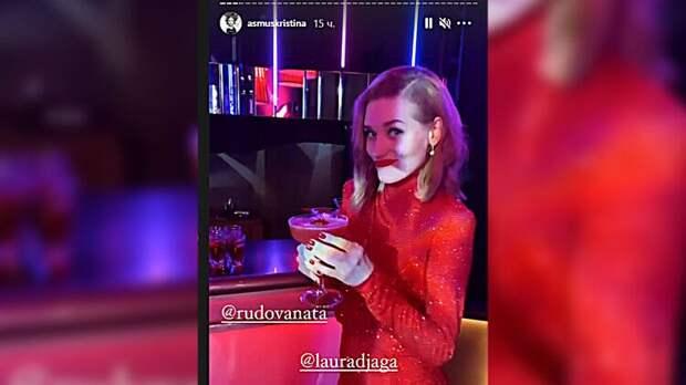 Разведенная Кристина Асмус повеселилась в компании звездных мужчин без Харламова