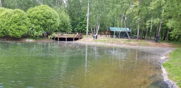 В СВАО началось благоустройство Медведковского пруда