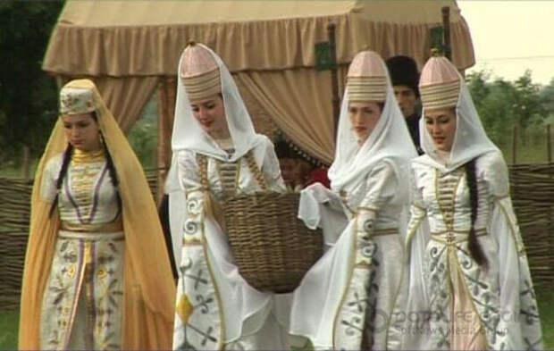 Свадебные обряды у косовских черкесов