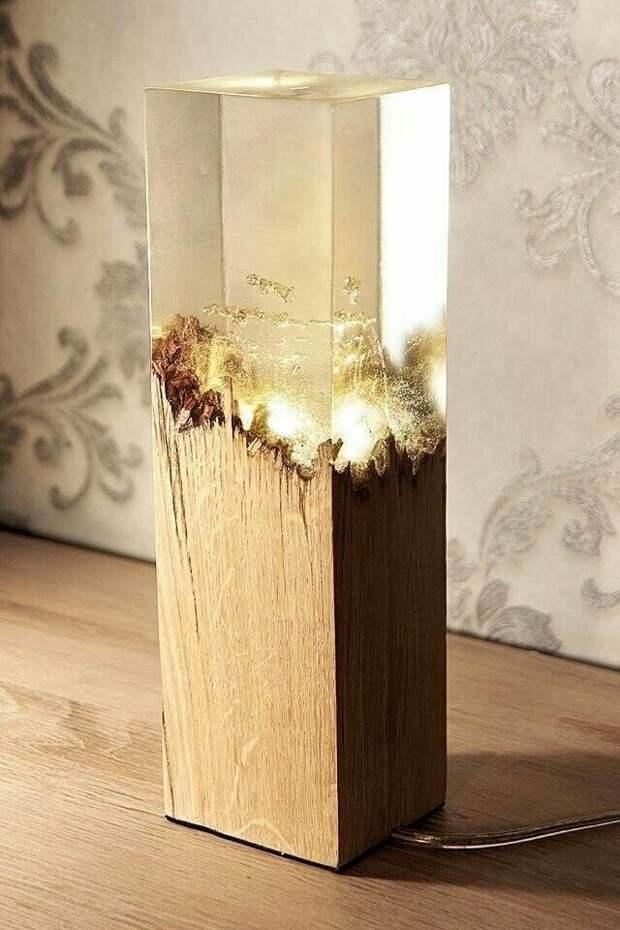 Светильники - факелы Майнкрафта