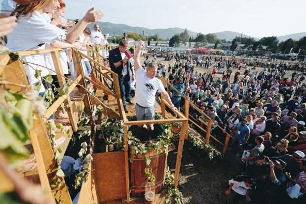Виноградники «Золотой Балки» под Балаклавой на 2 дня превратятся в грандиозное пространство