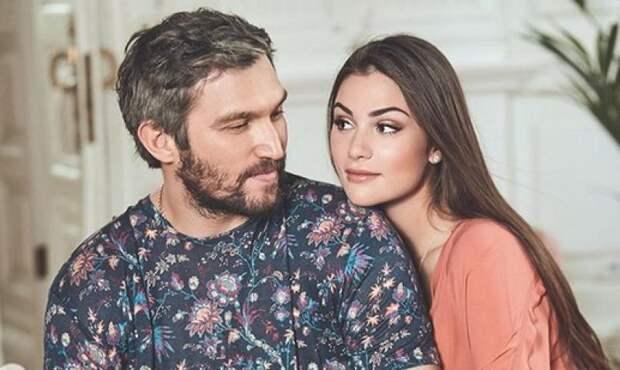 Анастасия Шубская и Александр Овечкин впервые показали лицо сына