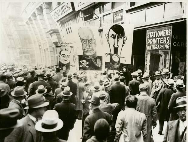 Протестное движение в США в 30-е годы