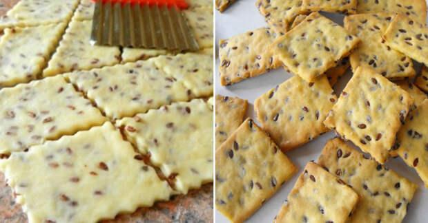 Рецепт постного печенья с семенами льна: легкое, хрустящее и очень вкусное