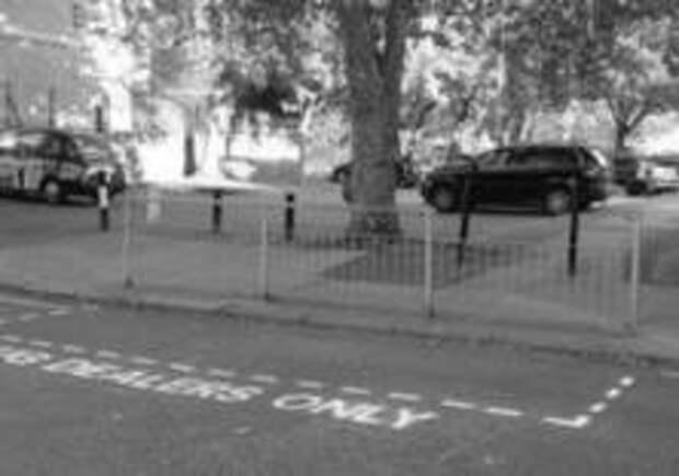 Парковки «для наркодилеров» появились в Лондоне