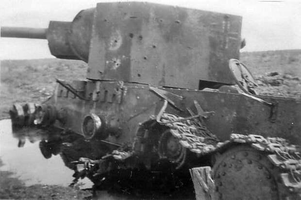 тяжелый танк КВ-2