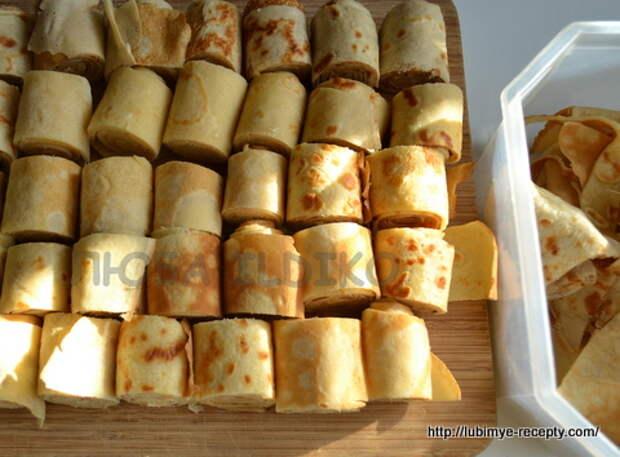 Торт из блинов по-венгерски