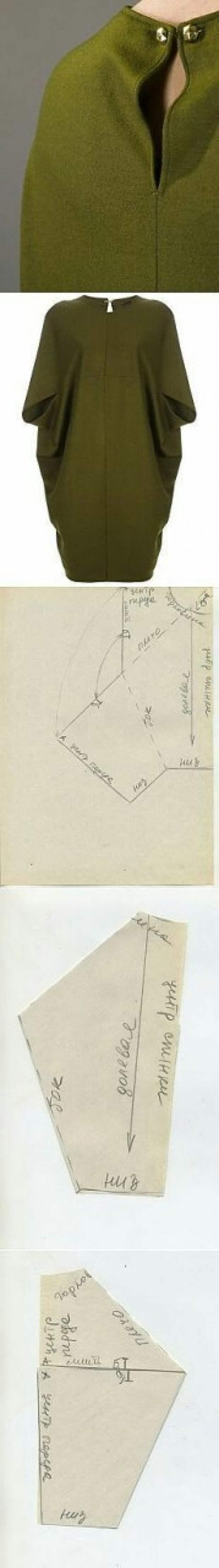 Выкройки на основе конверта (подборка)