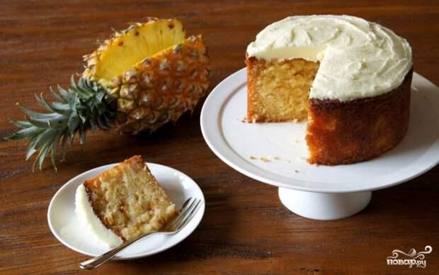 Гавайский пирог