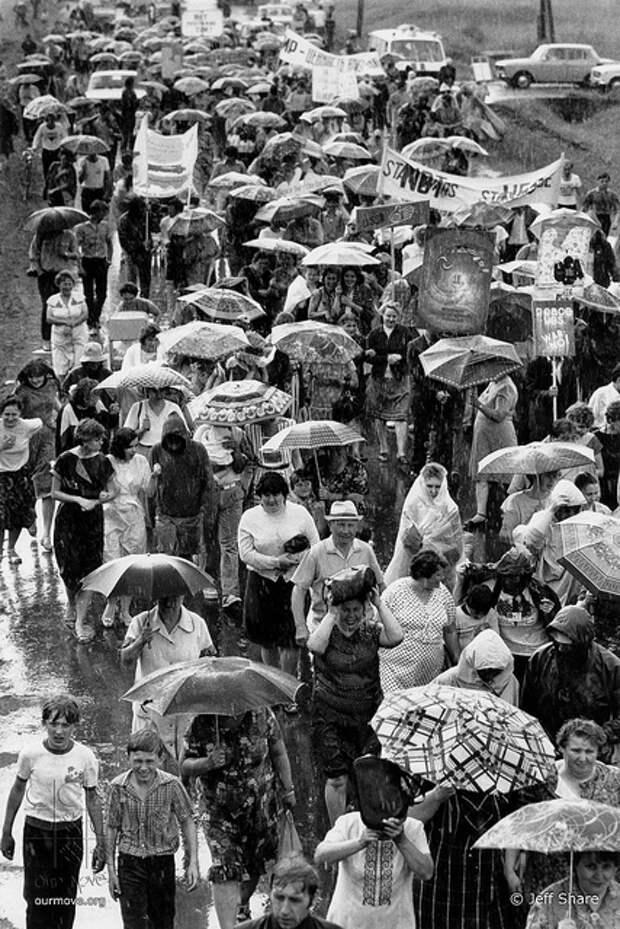 1987 год: советско-американский Поход за мир