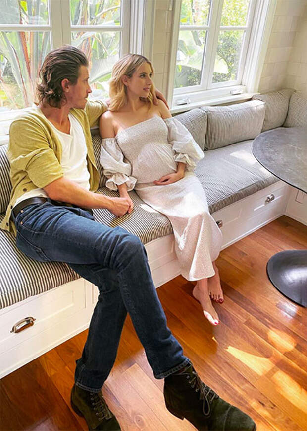Эмма Робертс подтвердила, что ждет ребенка от Гаррета Хедлунда