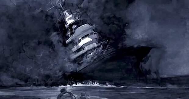 "Торпеда, челюсти и бомба. История крейсера ""Индианаполс"""