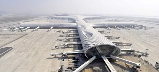 Китай не замечает проблем, вызванных пандемией, и строит новые аэропорты