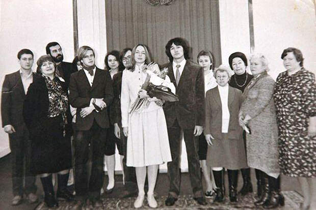 Свадьбы советских рок-музыкантов