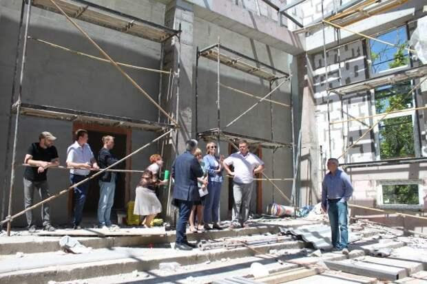 Строительство музыкальной школы в Севастополе вошло в заключительную стадию!