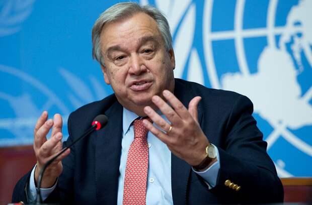 Генсек ООН сравнил 2021-й с 1945-м годом