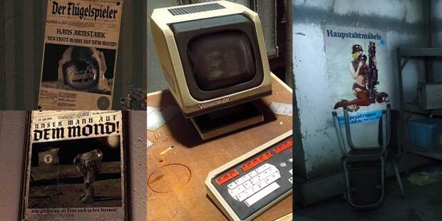 Внимание к деталям и ошибки — анализ уровней в Wolfenstein: The New Order