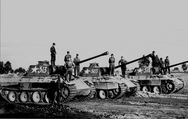 Трофейные Пантеры. |Фото: wiki.warthunder.ru.