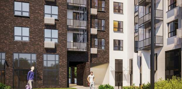 В районе Фили-Давыдково начали строить дом по реновации на 349 квартир