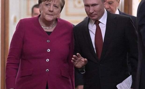 Биограф Меркель рассказал о ее словесных дуэлях с Путиным из-за Украины