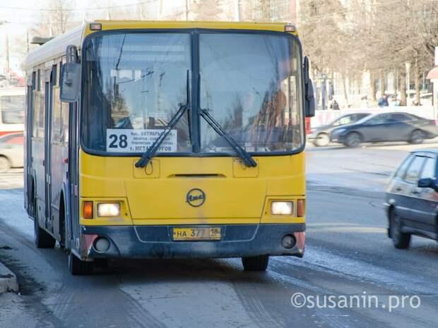 Более 1 млрд рублей потребуется на замену 100 автобусов Ижевска