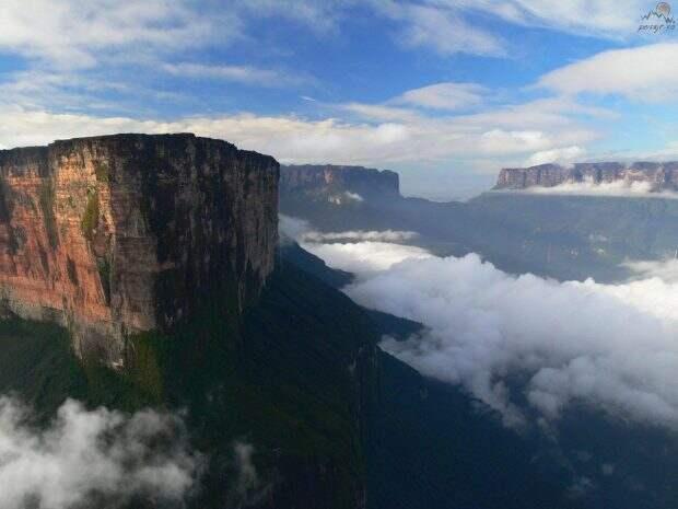 Гора Рорайма в Гран Сабана, Венесуэла