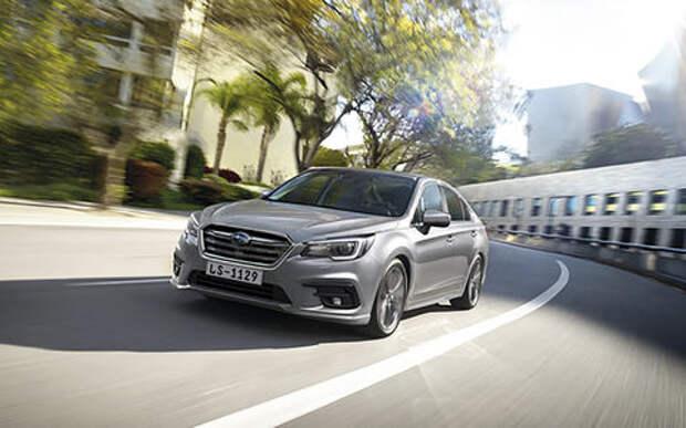 Возвращение Subaru Legacy в Россию: первые подробности