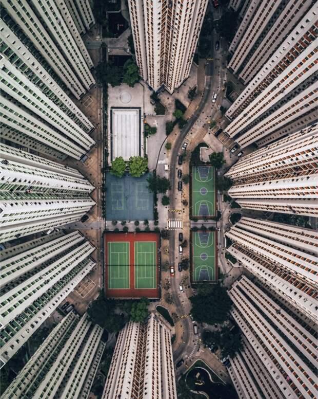 Лучшие фотографии, снятые дронами