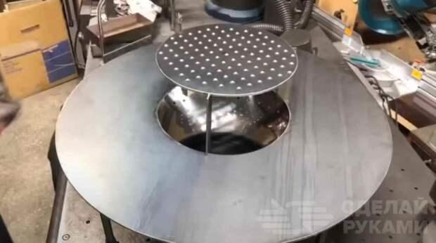 Разборная печь-гриль для отдыха на свежем воздухе