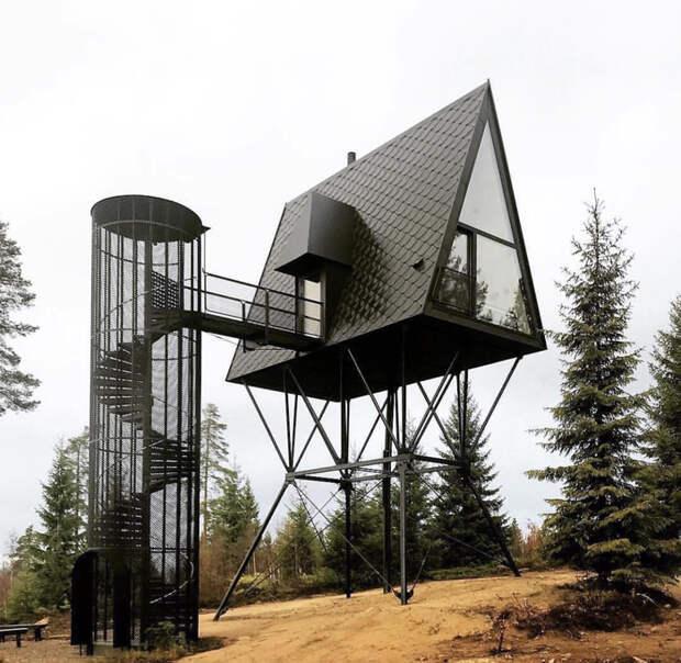 Этот домик в деревне Норвегии