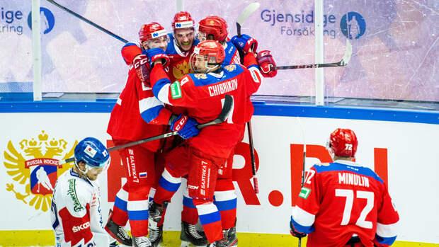 Сборная России переиграла Белоруссию в матче Еврочелленджа