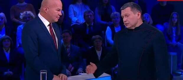 Соловьёв рассказал, что ждёт Ковтуна после того как его вышвырнут с российских каналов