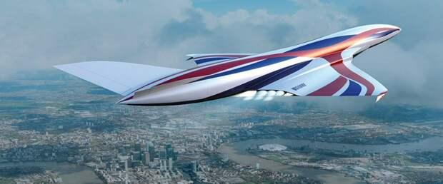 Самолет с уникальным гиперзвуковым двигателем SABRE пересечет полмира за четыре часа