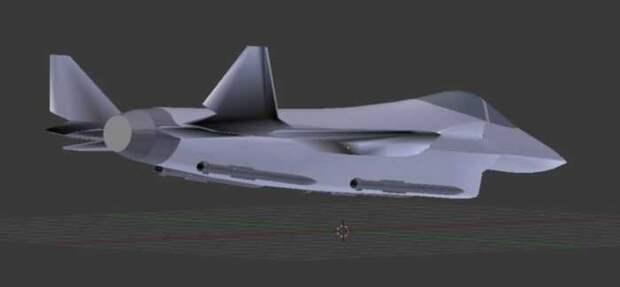 Опубликовано фото нового российского легкого истребителя МиГ-ЛМФС