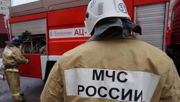 Пожар потушили в строении на улице Кирова в Подольске