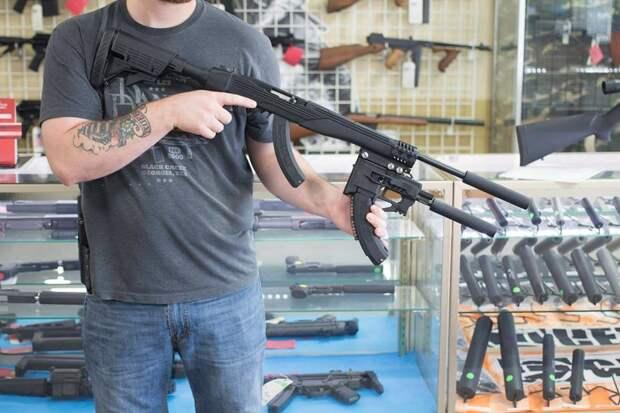 Такой вот вариант обвеса как для винтовки, так и для ZiP 22. Фото Impact Guns