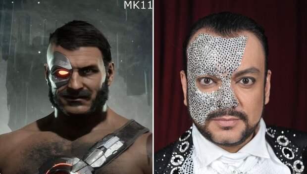 10 ярких фото, которые доказывают, что Киркоров косплеит персонажей видеоигр