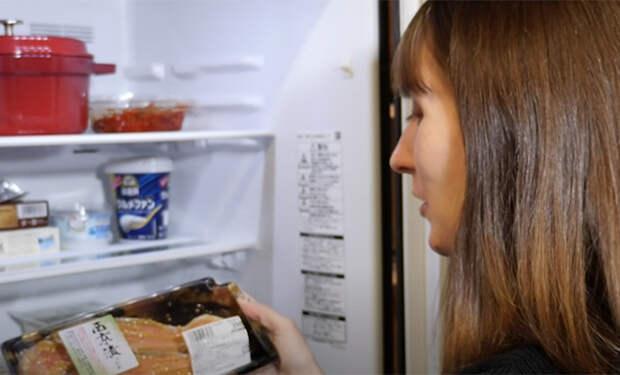 Содержимое холодильника японца: смотрим продукты, которые лежат на полках