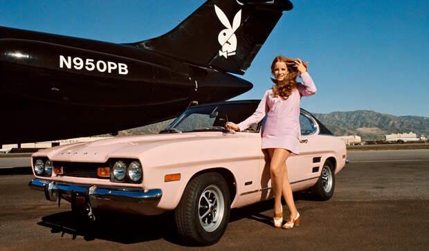 На чем ездили девушки года журнала Playboy