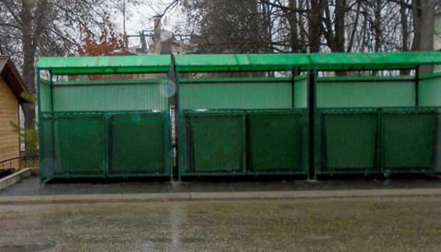 Петрозаводск до конца года получит 39 новых контейнерных площадок