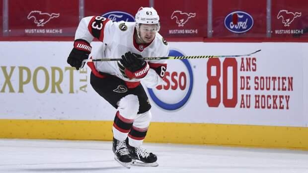 100-я шайба Дадонова в НХЛ не спасла «Оттаву» от разгрома в матче с «Эдмонтоном»