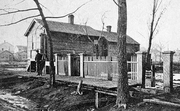 Дом семьи О'Лири