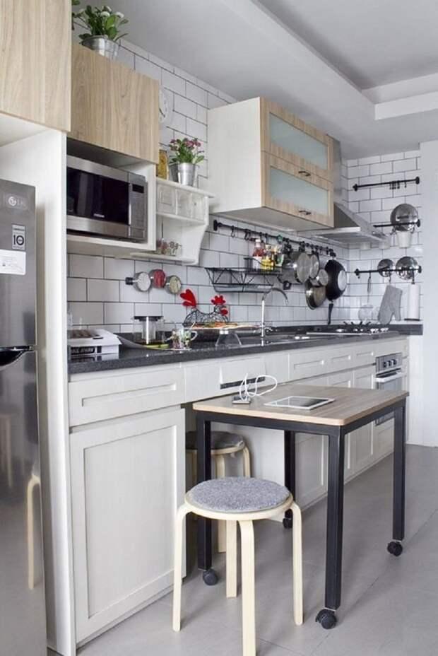 как упорядочить вещи на кухне