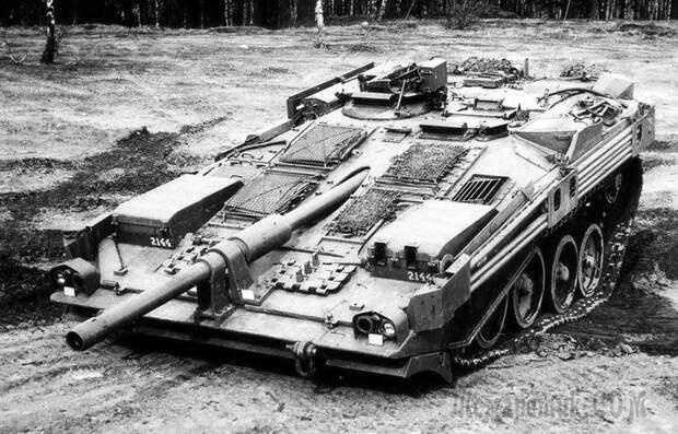"Безбашенный танк Stridsvagn 103 или ""S-танк"""