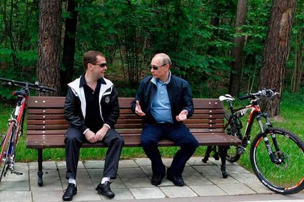 Тандем Путина и Медведева