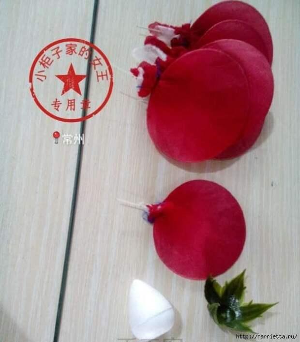 Розы из капрона. Красивые идеи и мастер-класс (67) (590x672, 154Kb)