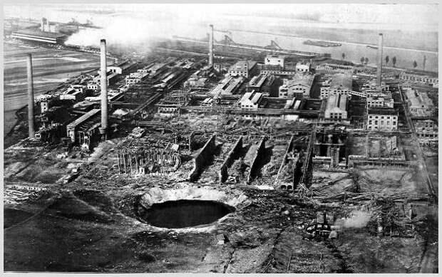 Исторические вехи технической революции. Укрощение азота