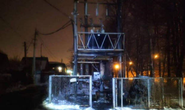 На электроподстанции в Краснодаре потушили пожар