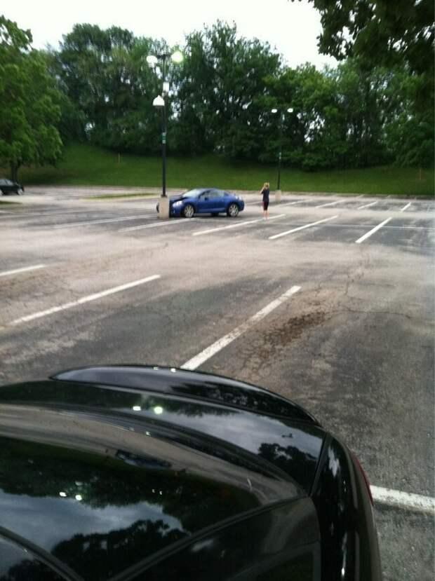 Гений парковки бедолаги, не идут дела, неудачи, фото, чёрная полоса