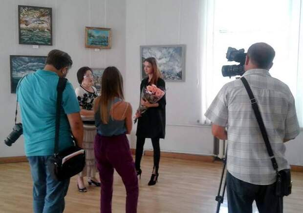 В Симферополе открылась выставка художницы Натальи Игнатьевой